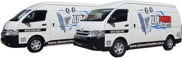 Airpower Delivery Vans